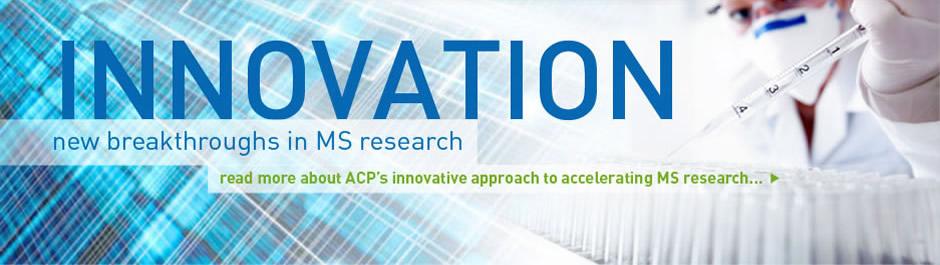 Innovation: read about ACP's innovative approach